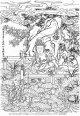2020-33-観音菩薩と蓮池の善財童子-3000